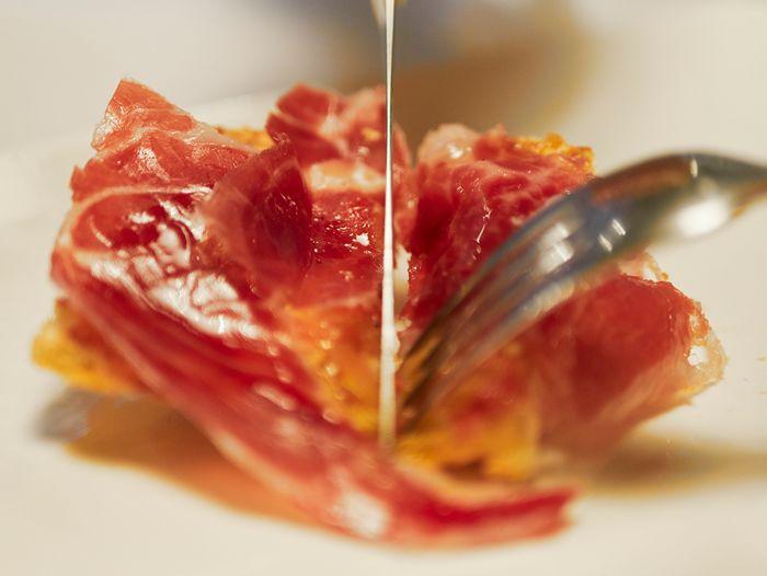 Carta El Mercado del Trigo. Desayunos tosta jamón ibérico Valladolid