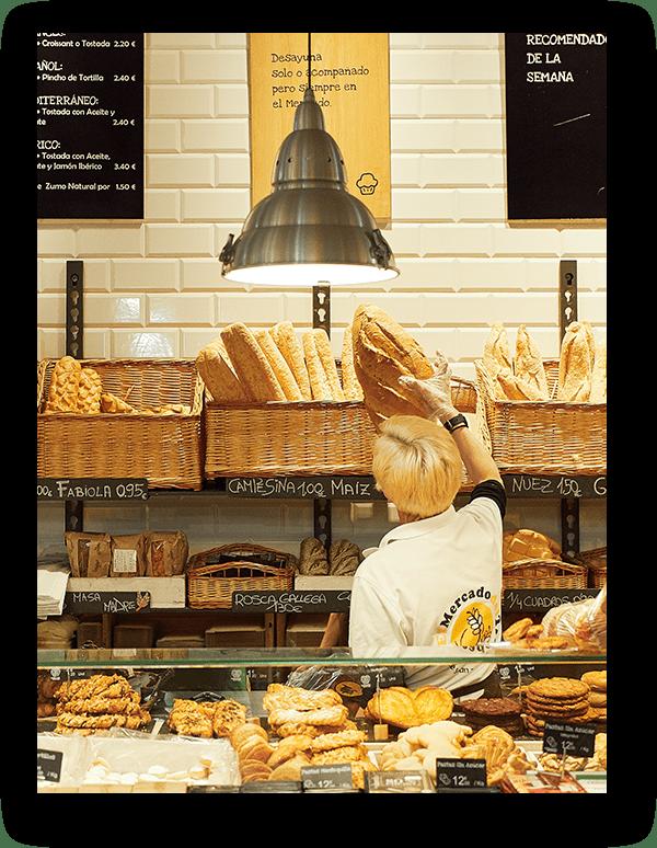 panaderia El Mercado del Trigo Valladolid tienda gourmet